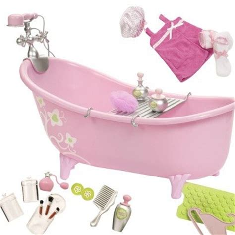 18 doll bathtub kitchen accessories for 18 inch dolls room ornament