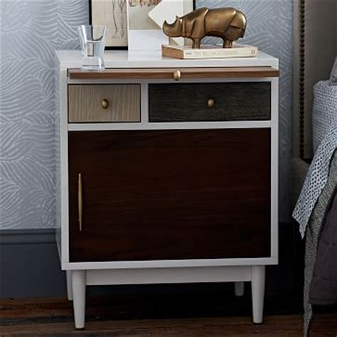 West Elm Patchwork Armoire - patchwork nightstand multi west elm