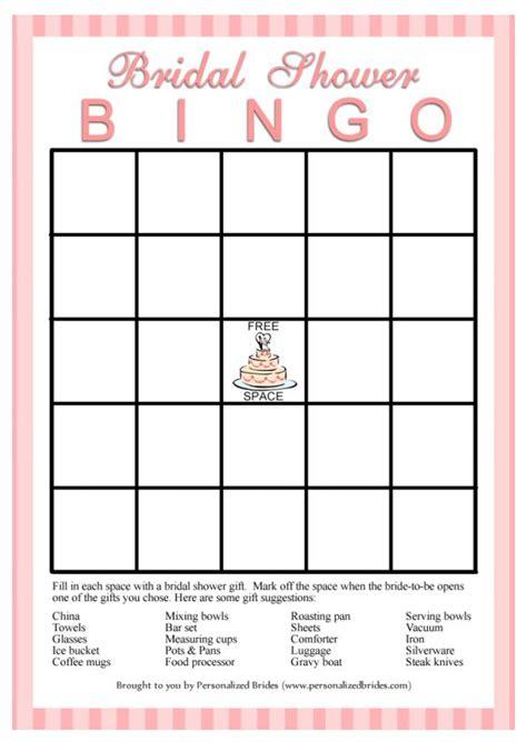 Kono Paper Filter 40 Sheets White 4 Person 11 free printable bridal showers bingo cards
