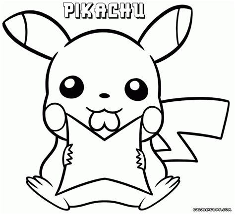 pikachu coloring pages best hd pikachu coloring pages free big collection