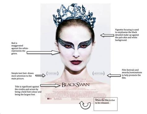 Film Poster Analysis Black Swan A2 Media Blog Black Swan Meaning