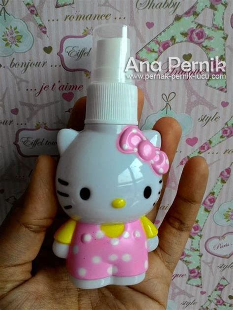 Botol Parfum Mini Hello botol parfum hello pernak pernik lucu