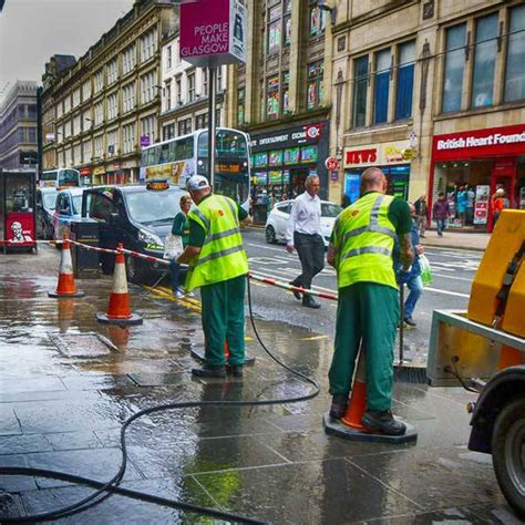 cleaner jobs glasgow clean streets team glasgow city centre strategy