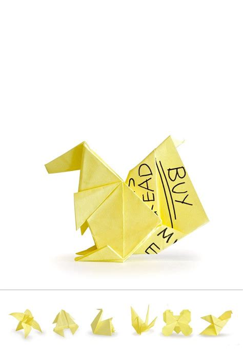 How To Make Origami With Sticky Notes - origami sticky notes content gallery recycle your