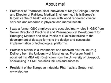 Mba In Pharma From Europe by Pharmaceutical Industry The Challenges And The Opportunities