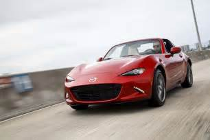 2017 mazda mx 5 miata rf drive review automobile