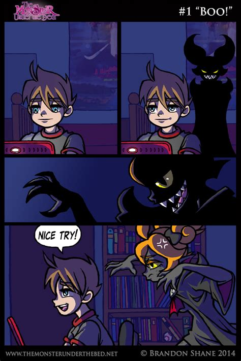 monster under the bed comic the monster under the bed 001 boo by jiveguru on deviantart