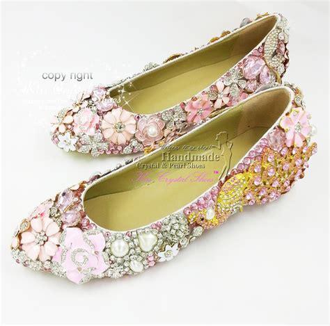pink flat sandals wedding flat wedding shoes new customized handmade