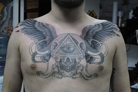 tattoo on chest gallery tattoo pictures
