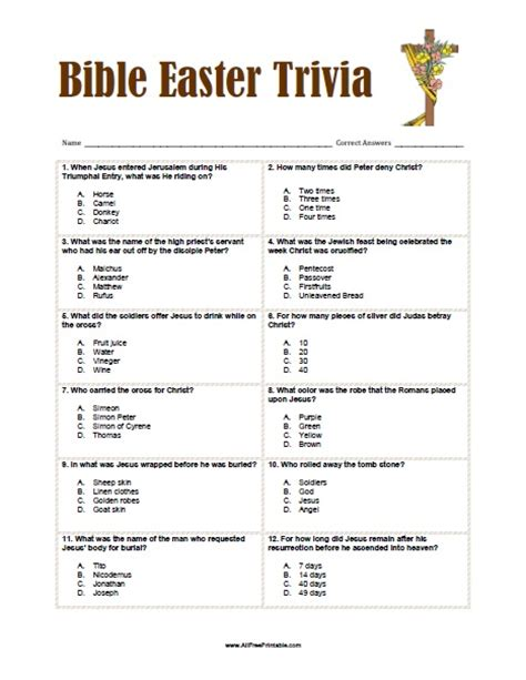 easter facts trivia image gallery easter trivia