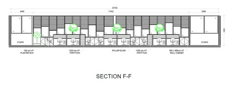 Interior Section Drawing by Cad Drafting Singapore Freelance Drafting Service For 2d