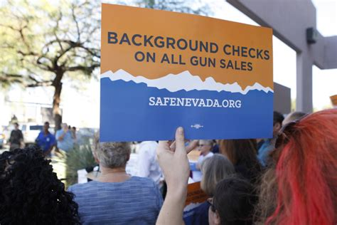 Nevada Background Check Laws The Fbi Won T Help Nevada Enforce Its Background Check