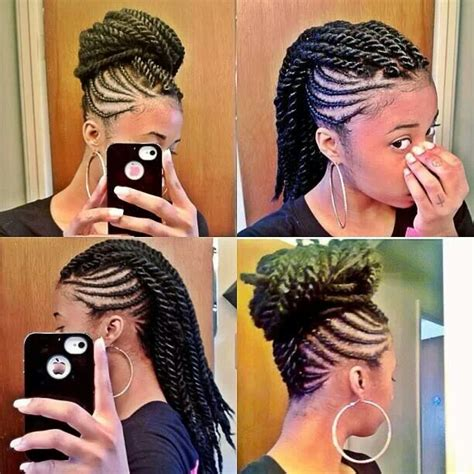braids to the scalp protective hairstyles natural journey help pinterest