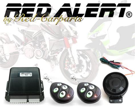 Motorrad Quad Anh Nger by Red Alert Rc2 Motorrad Alarmanlage Roller Quad Anh 228 Nger