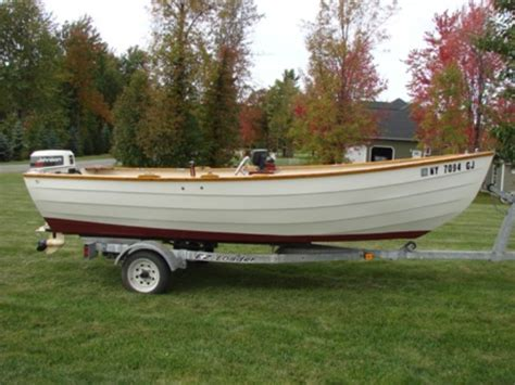 wooden dory boat for sale 1993 16 amesbury dory sturdee for sale the hull truth