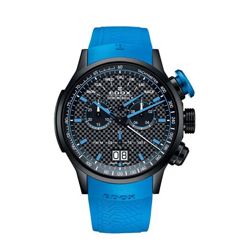 Tagheuer Schumacher Premium Blue edox chronorally limited edition sauber f1 team your