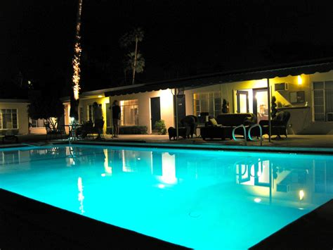 pool at night the pool at night iron tree inn palm springs classic