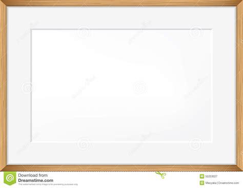 blank photo frame template vector blank of photo frame stock vector image 55253027
