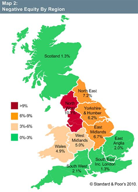 map uk south divide will the south property gap widen this is money