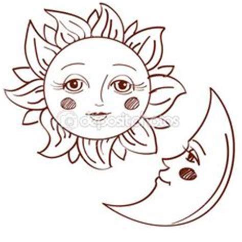 dibujo para colorear estrellas sol luna sol pinterest sol luna y estrellas para colorear imagui sol luna
