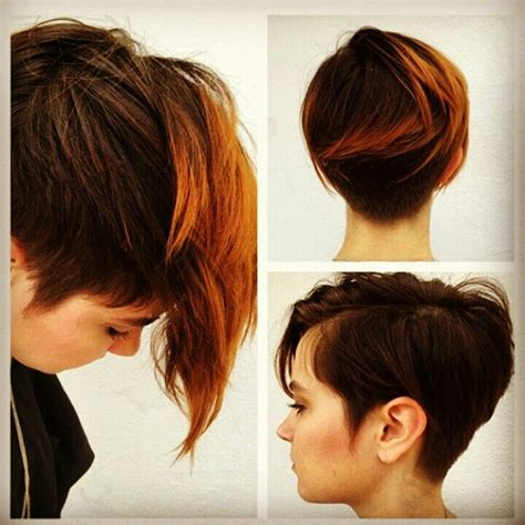 haircuts short overhears longer on crown 17 best images about short hair rules on pinterest best