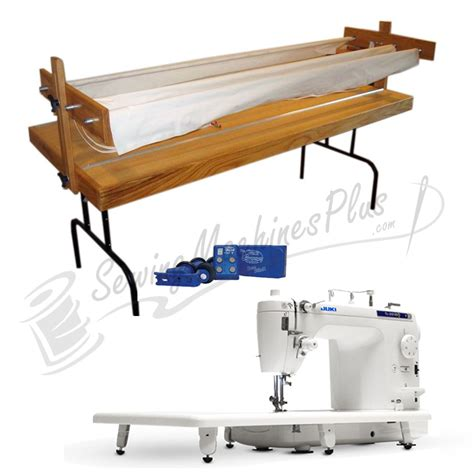 juki tl2010q quilting machine w bradley ultra quilter