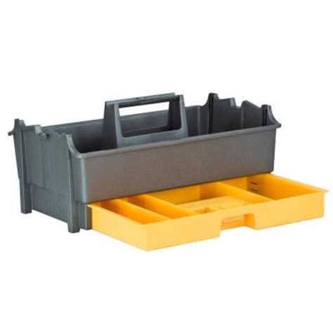 plano tote more utility tray 311007 the home depot