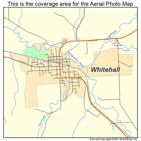 Whitehall Wi aerial photography map of whitehall wi wisconsin