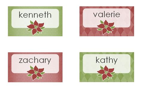 dinner name card template free printable name place cards