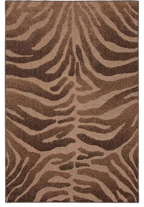 Animal Print Outdoor Rugs Mohawk Terrace Kahala Brown Outdoor Indoor Animal Prints Tiger 5 X 8 Rug Outdoor Rugs