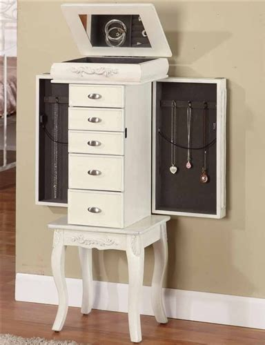 jewelry armoire antique white image gallery jewelry armoire antique white
