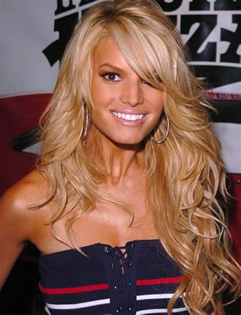 is jessica simpson a natural blonde jessica simpson hair color hair colar and cut style