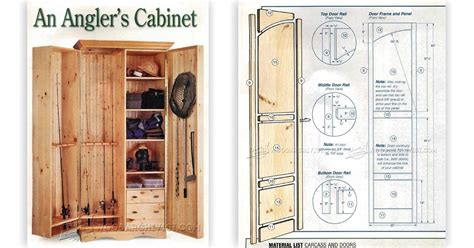 fishing rod storage cabinet fishing rod cabinet plans woodarchivist