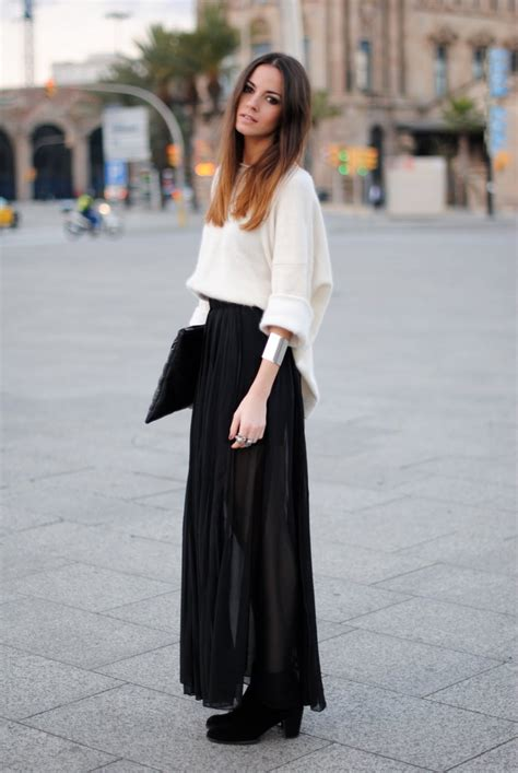 9 best images about black skirt on black