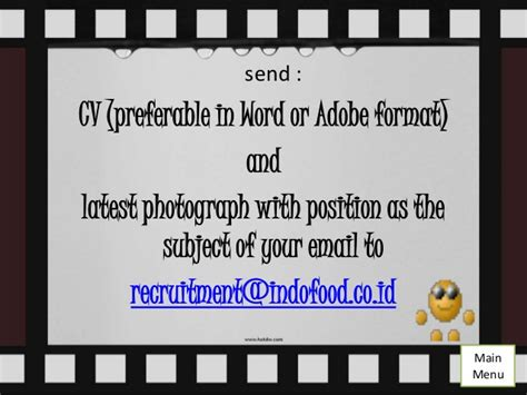email indofood pt indofood
