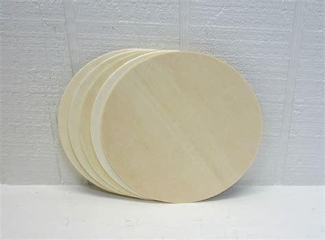 unfinished craft projects wooden circles 5 inch unfinished for signs and craft projects