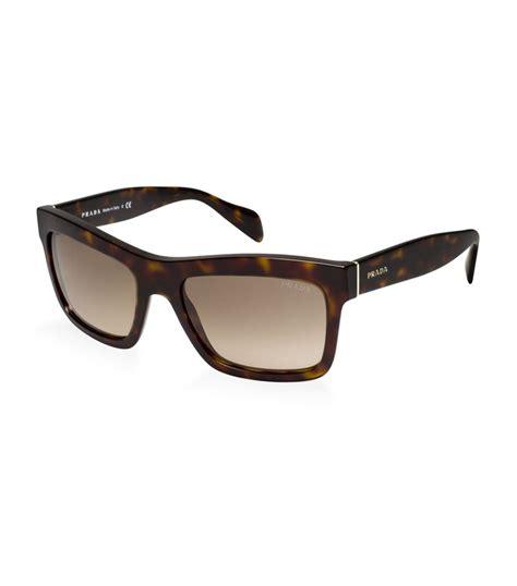 Prada Classic 7 prada classic square sunglasses in black lyst