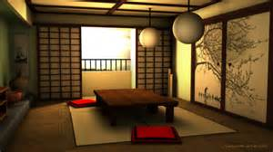 Japanese Room Decor 3d Traditional Japanese Room By Niraeika On Deviantart