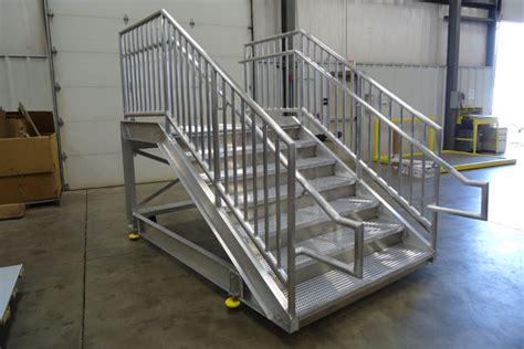 Platform Stairs Design Aluminum Platforms Stairs Images