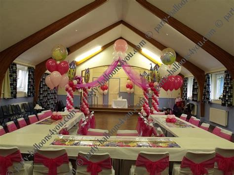 how to decorate for a birthday party at home wedding balloons fresh silk flowers pew end bows chair cover hire party decorations gallery