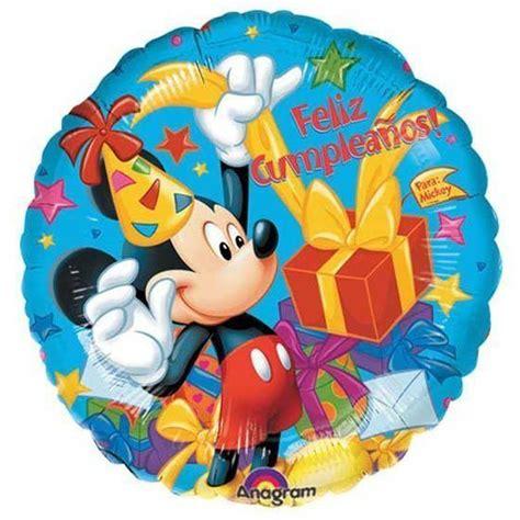 Balon Foil Disney Mickeymouse mickey mouse feliz cumplea 241 os 18 quot balloon disney foil mylar ebay