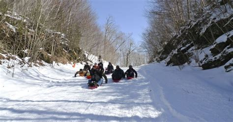 sledding vermont free winter sledding lincoln gap in vermont