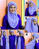 Modern And Beautiful Hijab Tutorial | Hijab Style Trends