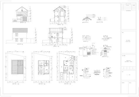 membuat gambar imb gambar perencanaan bangunan aarchstudio