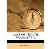 Laws Of Health Volumes 1 3 Anonymous 9781173691189 Books  Amazon