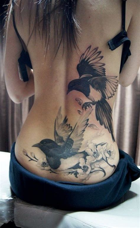 tattoo back girl 25 sexy lower back tattoos for girls magpie tattoo