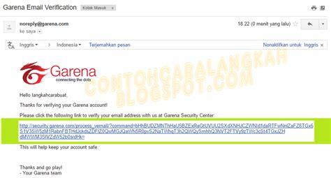 membuat email pb garena cara buat akun pb garena indonesia plus verifikasi akun pb
