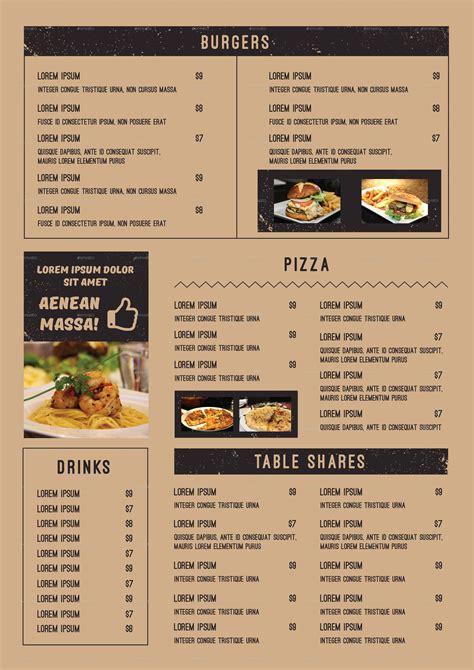food menu food menu by infinite78910 graphicriver