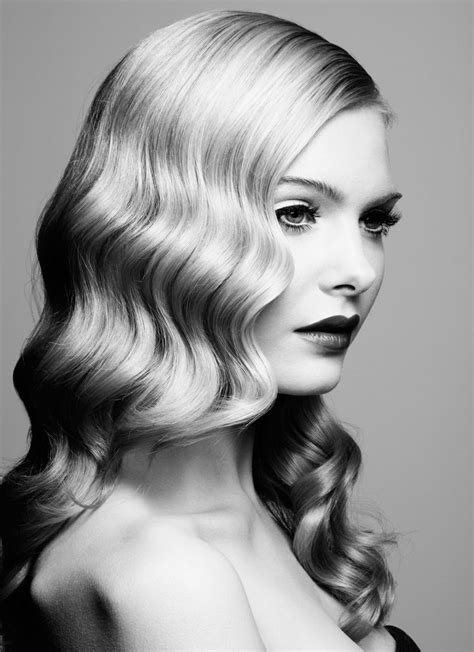 Waves Hairstyle by 20 Stylish Retro Wavy Hairstyle Tutorials And Hair Looks