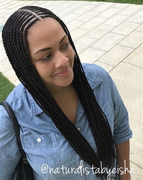 how to braid hair with middle part 25 best ideas about black braided hairstyles on pinterest